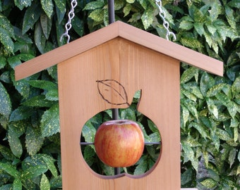 FREE SHIPPING, Apple Bird Feeder