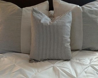 Custom made pillows. Ticking and coffee sack!!