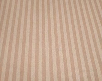 Motif Vintage Wallpaper Stripes Small Burnt Umber