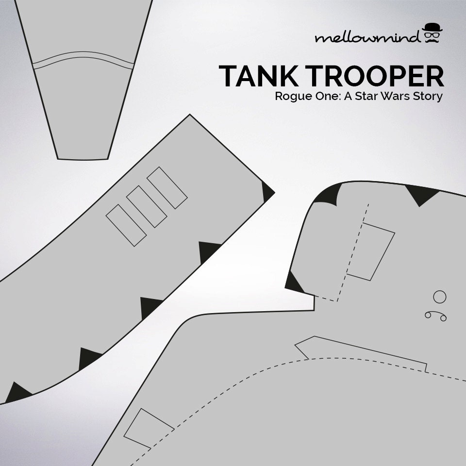 diy rogue one a star wars story tanktrooper helmet templates for eva foam from. Black Bedroom Furniture Sets. Home Design Ideas