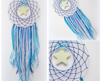 Dreamcatcher mobile, nursery dreamcatcher, nursery dream catcher mobile, baby boy dream catcher, baby girl dream catcher, nursery decor
