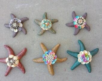 Handcrafted Starfish - Shells Decor - Starfish Decor