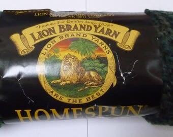 Lion Brand HOMESPUN Yarn PLANTATION crochet weave knit
