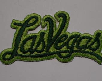 Vintage Las Vegas Script Patch