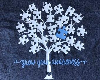 Grow your Awareness Autism Shirt