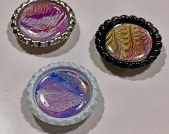 Planetary Bottlecap Magnets