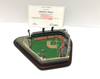 Cincinnati Reds - Crosley Field replica by Danbury Mint