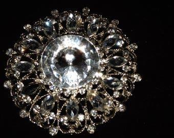 Round rhinestones brooch , fashion brooch,