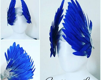 Cap wing Valkyrie Ice Queen Beauty Wings Fantasy fairy Frozen feathers Fairytale