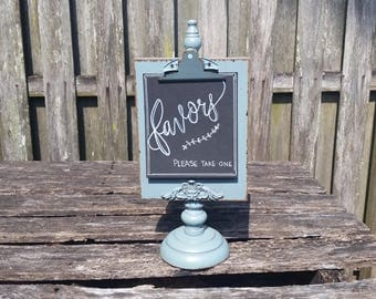 Wedding Decor, Favors, Wedding Sign, Table Decor, Vintage Wedding, Rustic Wedding, Wood Sign, Favor Sign