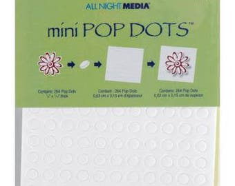 "Plaid | Mini POP DOTS | 264 package | .25"" Size"