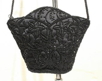 Vintage Another Y & S Original Beaded Evening Bag
