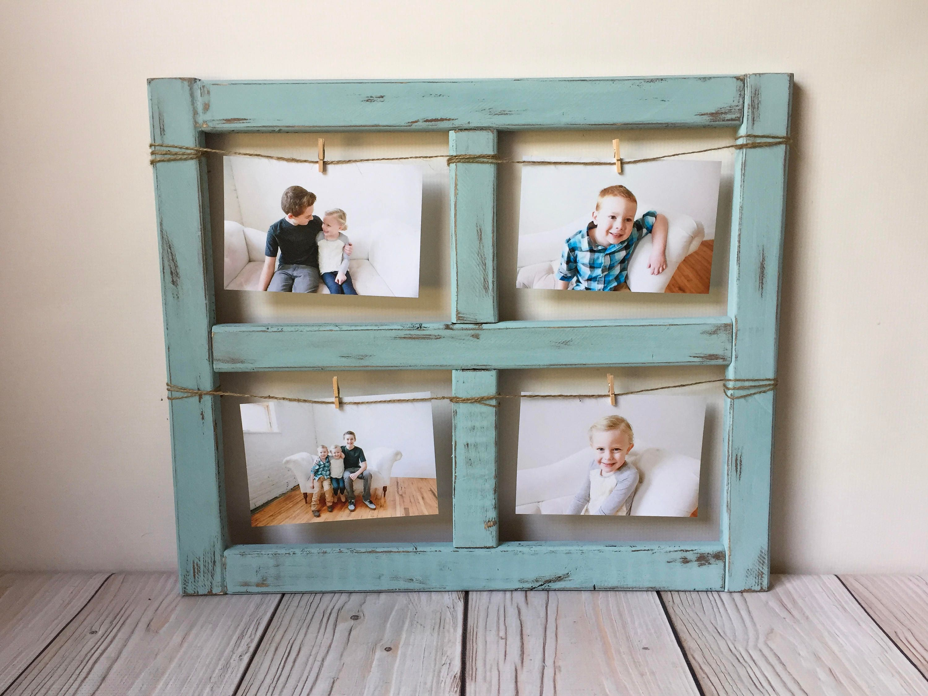 Old Window Frame Decor Window Frame Picture Frame Fathers Day Farmhouse Decor Old