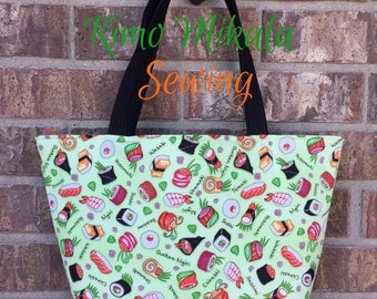 I Love Sushi Handbag/Shoulder Bag