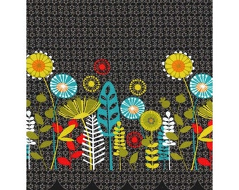 Michael Miller Flowers Aplenty Collection - Posey Border,  100% cotton