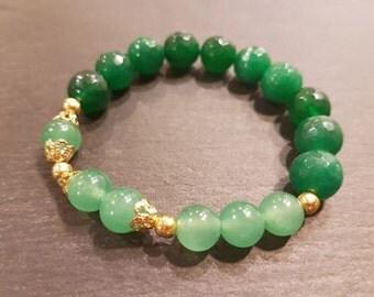 Green Agate, Aventurine.