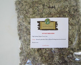 Cretan Natural Aromatic Coveted,Rare & Scarse Dried Herb Dittany From Greece.