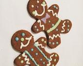 Gingerbread men 2 pk wheat free