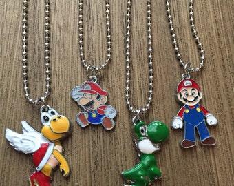 Mario PARTY FAVORS Pendant Necklace