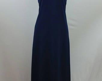 Tank Maxi Dress, Long Dress, Short sleeve Dress,