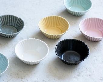 Ceramic Cupcake Pan, Ceramic Small Bowls, Baking Cups, Dessert Bowl, Small Bowls, Baking Gift, Housewarming Gift