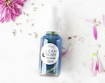 Pillow Mist   Night Body Mist, Bedroom Spray   100% natural + vegan   Dreamscape - TRAVEL SIZE