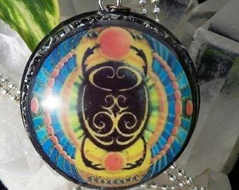 Orgone Energy Egyptian Scarab Pendant