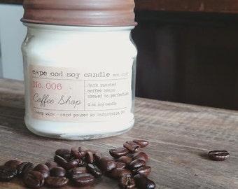 Coffee Shop Soy Candle - 9 oz