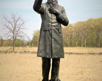 Father Corby Monument / Gettysburg - Photograph