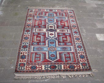 Rug With Tassels Etsy
