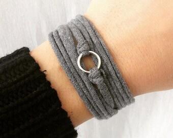 Fabric, stretch bracelet, cuff, wrap bracelet bracelet bracelet