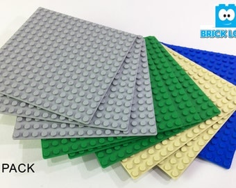 """New Listing SALE! Baseplate Bundle - 10 pack of 16x16 (5""""x5"""") - LEGO Compatible"""