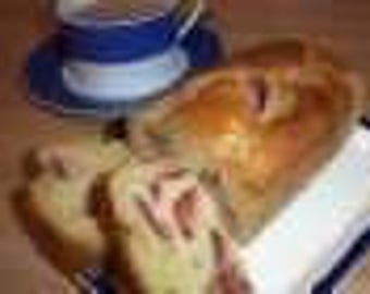 Gluten Free Orchard Plum & Ginger Cake