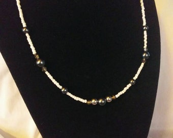 Shimmering Pearl Necklace