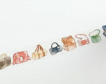 Design Washi tape bag handbag travel