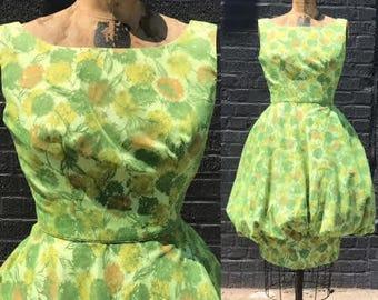 Garden Party 1950s Bubble Dress XS