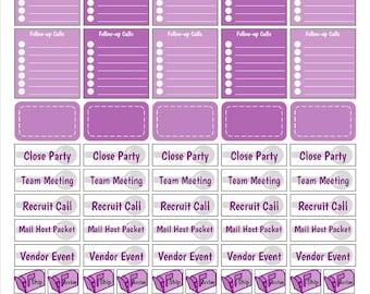 Printable Pampered Chef - Purple Version