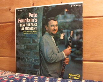 Pete Fountain - Pete Fountain's New Orleans At Midnight - 33 1/3 Vinyl Record