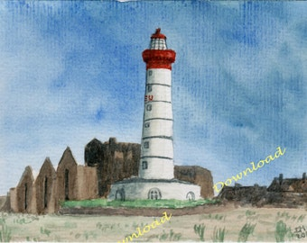 Download - French Saint-Mathieu Lighthouse