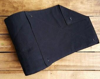 Un-paper towel, paperless towels, reusable towels, black unpaper towels, cloth alternative, crunchy, hippie towels, eco-friendly product
