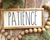 Patience, Handmade Wood S...