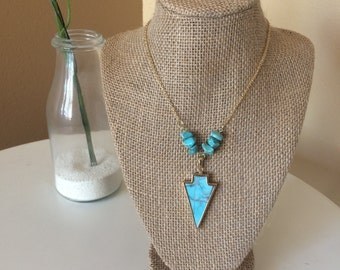 Blue Arrowhead Long