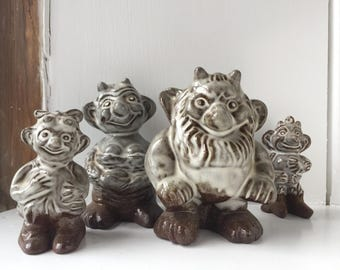 Danish Troll Family by Bornholm