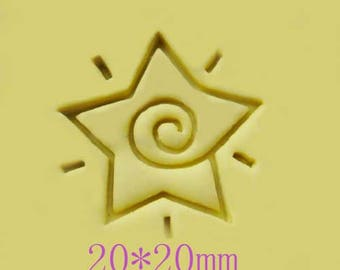 Star Resin Stamp Soap Stamps Resin Seal Stamp Cookies Stamp Candy Stamp