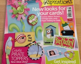 Papercraft  inspirations June 2008 issue 48 card making etc