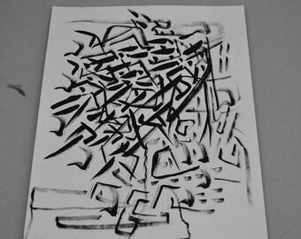 Free Air - A3 OOAK artwork by KARE