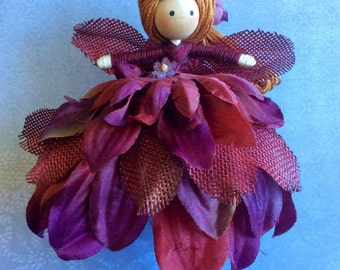 Pinspot Flower Fairy Rainey Doll