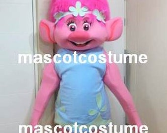 "New special trolls  Mascot Costume Professional Character 5' 9""  m1"