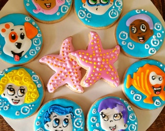 Bubble guppies cookies  (12)