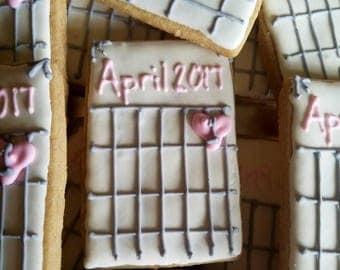 Calendar cookies (12)